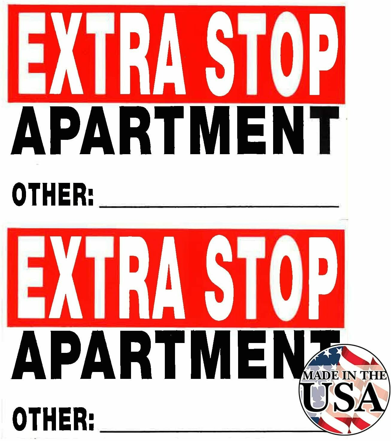 Extra Stop Apartment - 50 Count