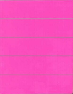 File Folder Labels: Pink - 50 Count