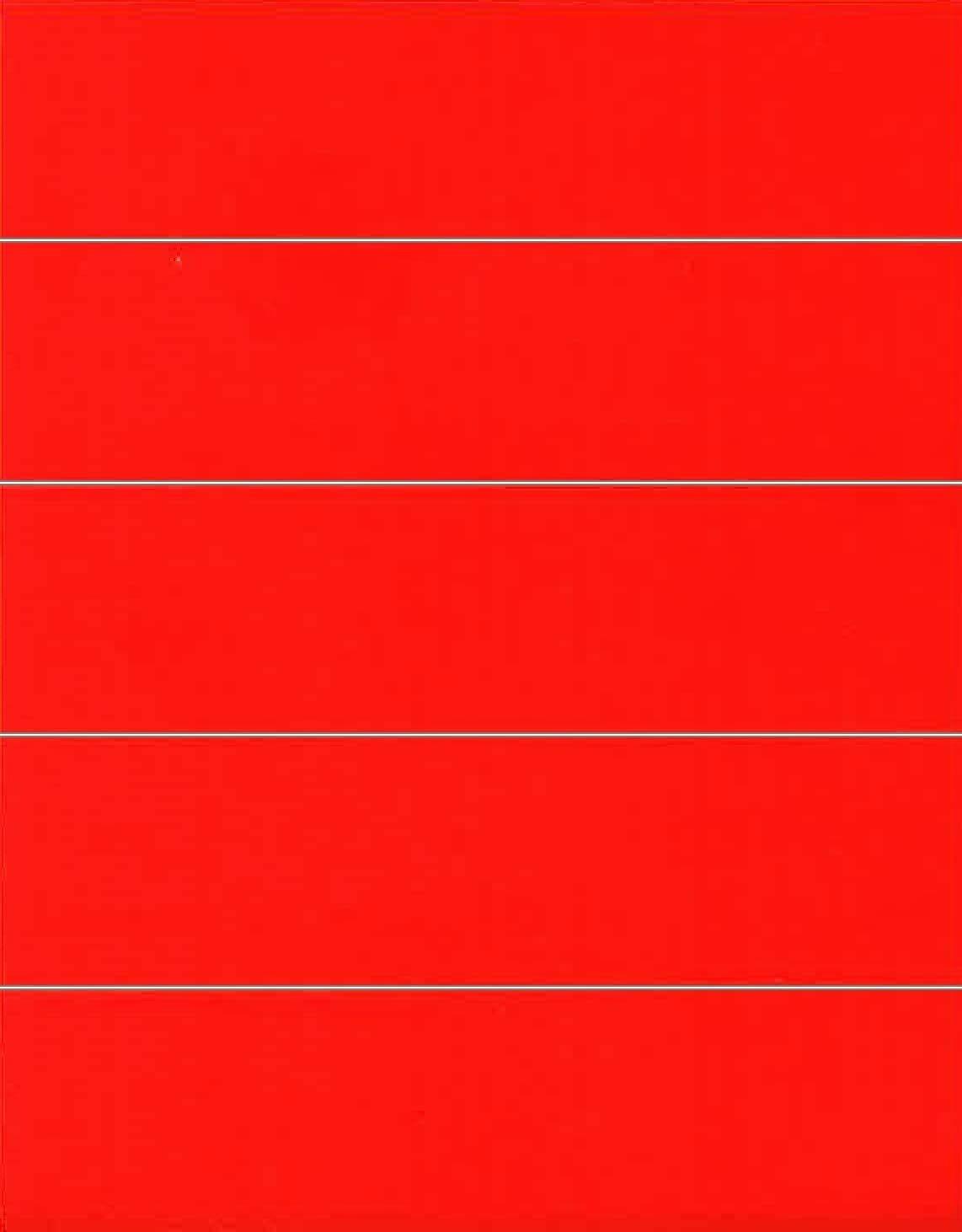 File Folder Labels: Red - 50 Count