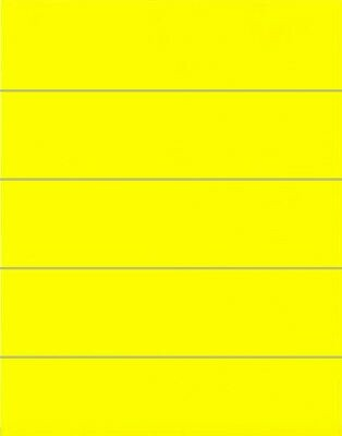 File Folder Labels: Yellow - 50 Count