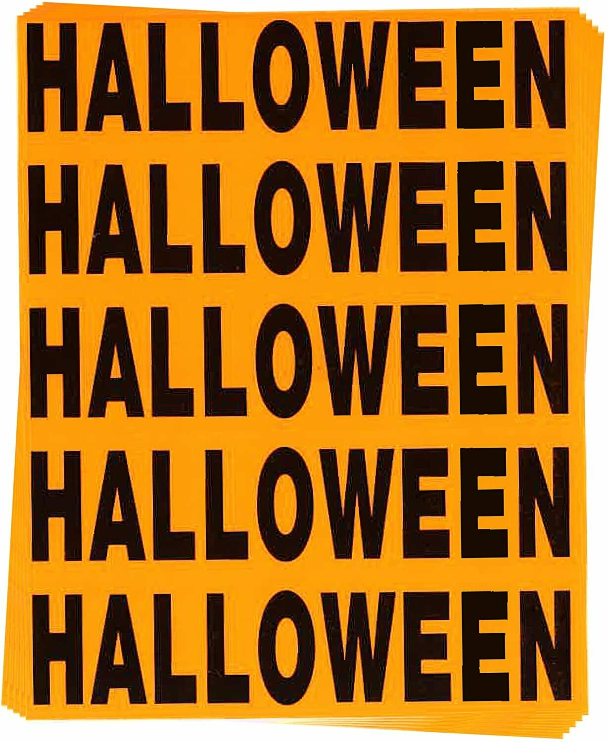 Halloween Color Coded Moving Labels (50 Count)