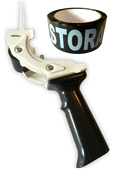 Tag-A-Room® Tape-Gun (Tape Dispenser) with Storage Tape