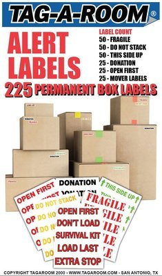 Alert Labels Pack - 225 Count