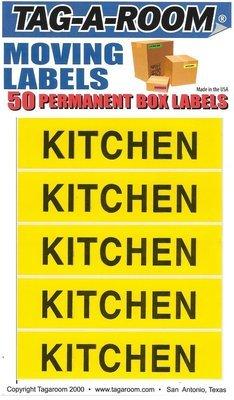 Kitchen Labels - 50 Count