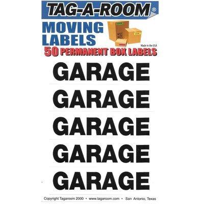 Garage Labels - 50 Count