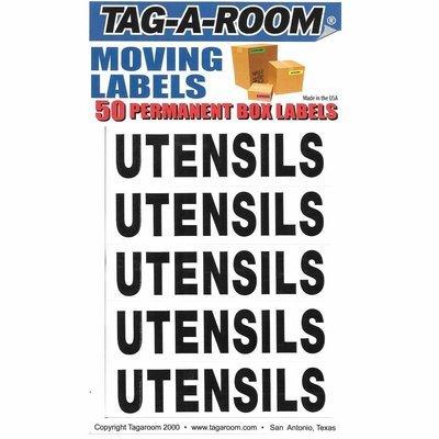 Box Content Moving Label (Utensils)