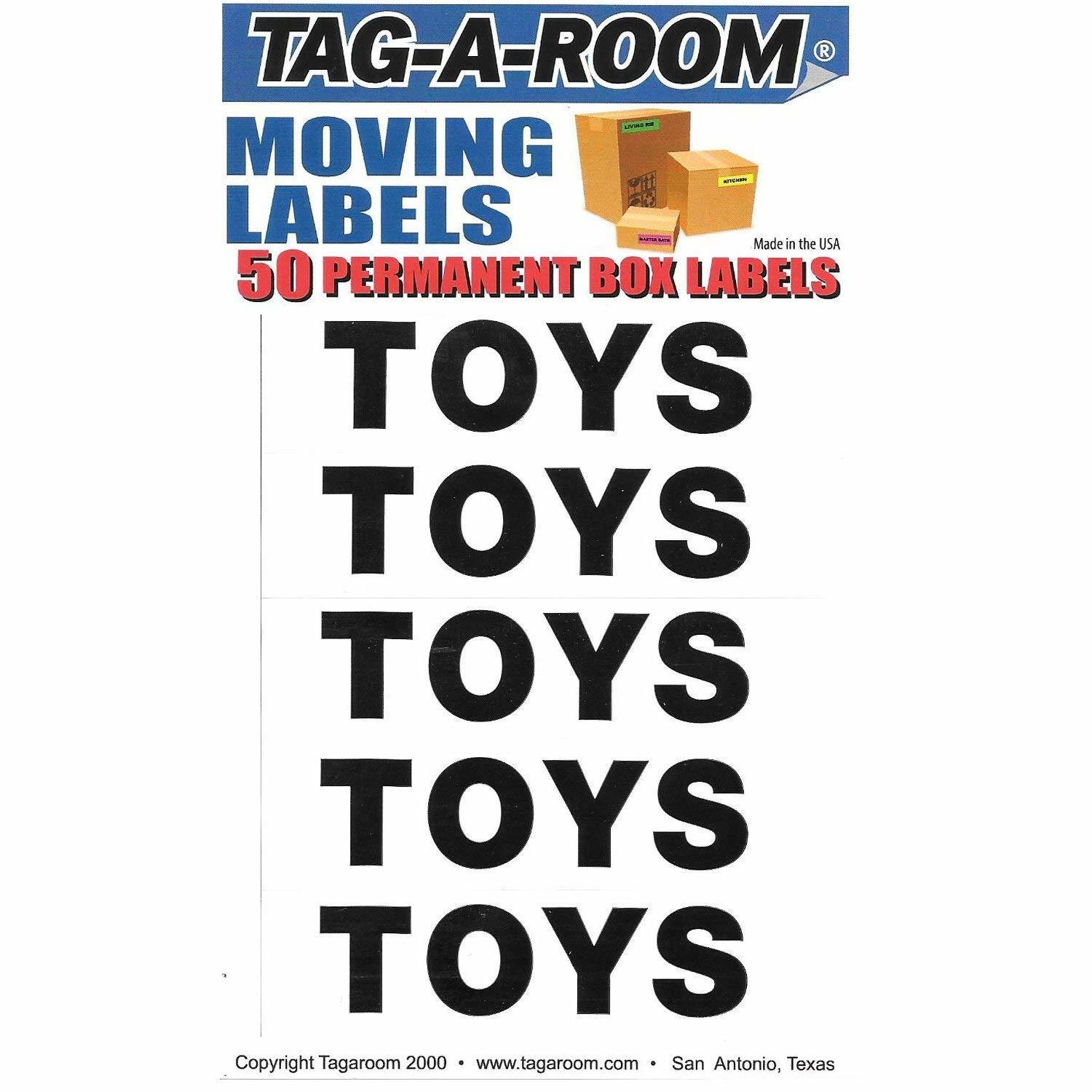 Box Content Moving Label (Toys)