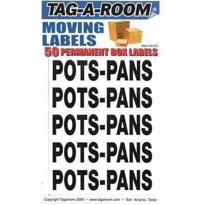 Content Moving Label (Pots-Pans)