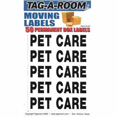 Box Content Moving Label (Pet Care)