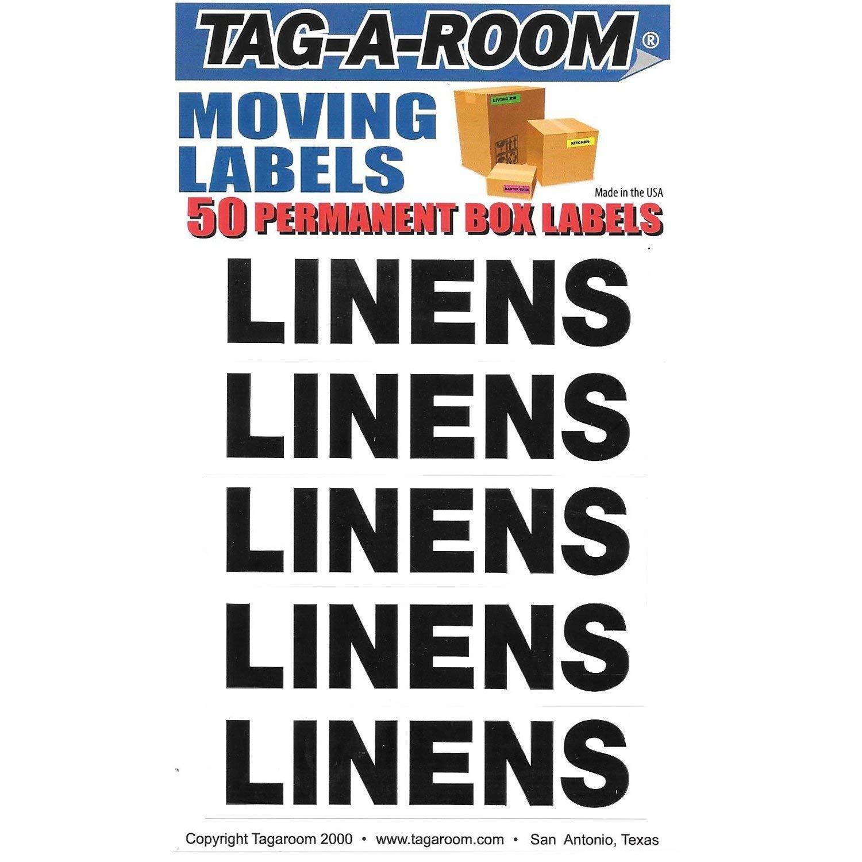 Box Content Moving Label (Linens)
