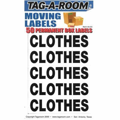 Box Content Moving Label (Clothes)
