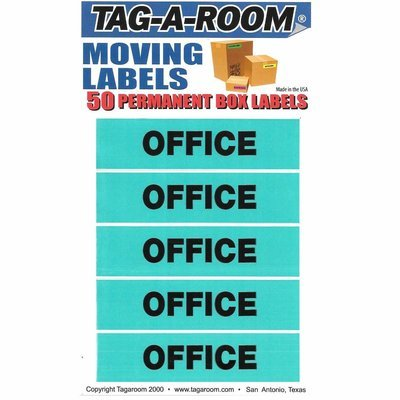 Moving Box Labels (Office)