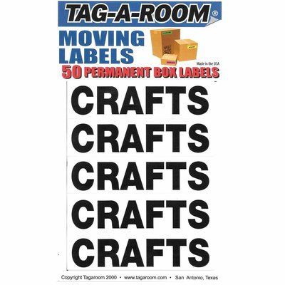 Box Content Moving Label (Crafts)