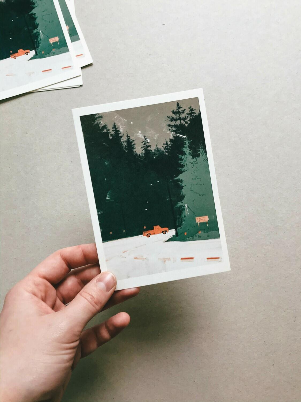 Forks | Postcard