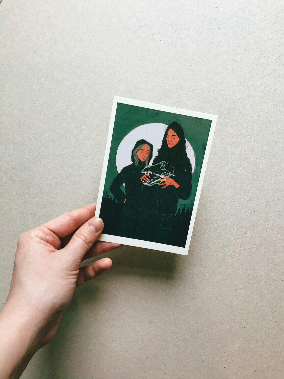 Quileute Legend | Postcard