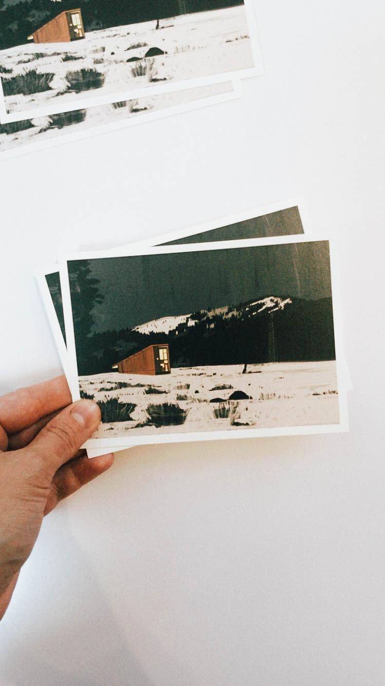 METHOW CABIN   Postcard