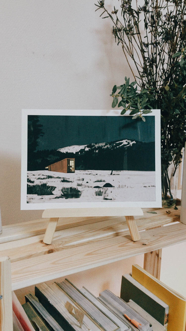 METHOW CABIN | Poster A4