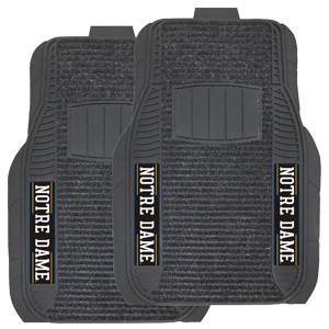 Notre Dame Deluxe 2-pc Auto Mat Set