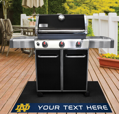 Notre Dame Personalized Grill Mat