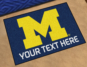 Michigan Personalized Starter Mat