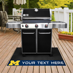 Michigan Personalized Grill Mat