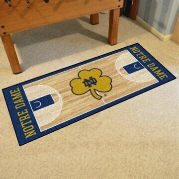 Notre Dame Basketball Runner Mat/Rug