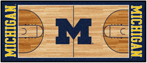 Michigan Basketball Runner Mat