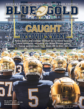 Blue & Gold Illustrated 1-Year Subscription (Print & Digital)