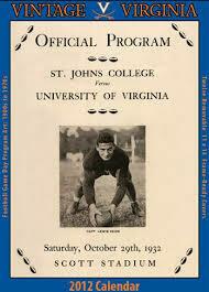 Virginia 2012 Vintage Football Calendar