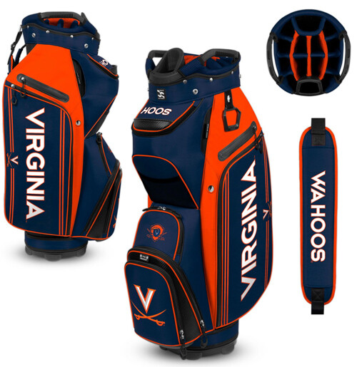 Virginia Cavalier Golf Bag Bucket III Cooler Golf Cart Bag