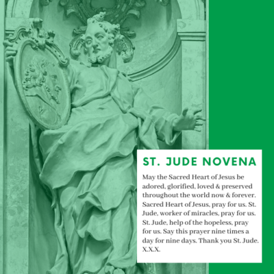 Prayer To Saint Jude Novena
