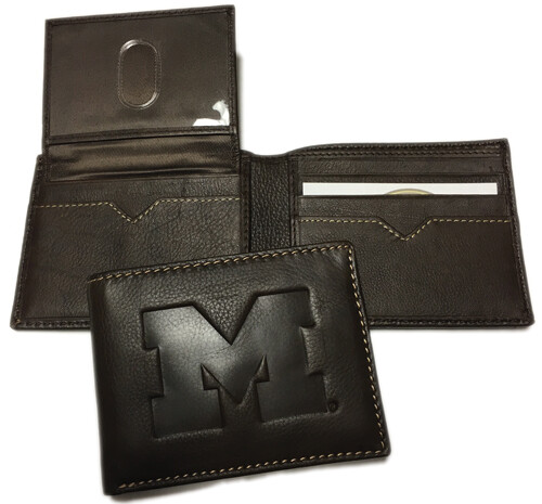 Michigan Leather BiFold Wallet
