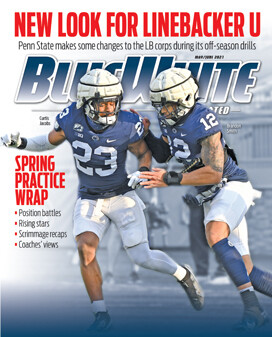 Blue White Illustrated May-June 2021