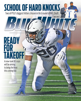 Blue White Illustrated July 2021