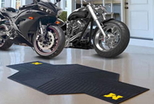 Michigan Wolverine Motorcycle Mat