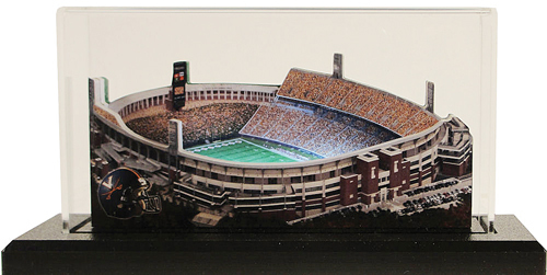Virginia Cavalier Stadium Replica w/LED Lighting and Display Case