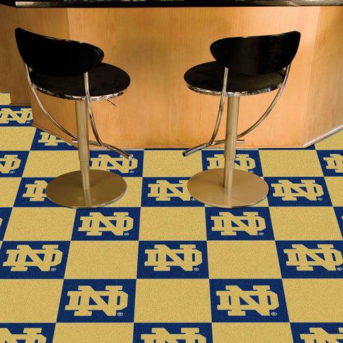 Notre Dame Carpet Team Tiles