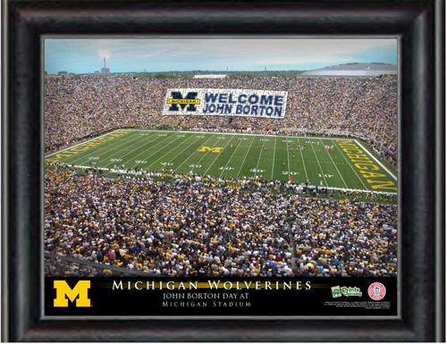 Michigan Stadium Personalized Print