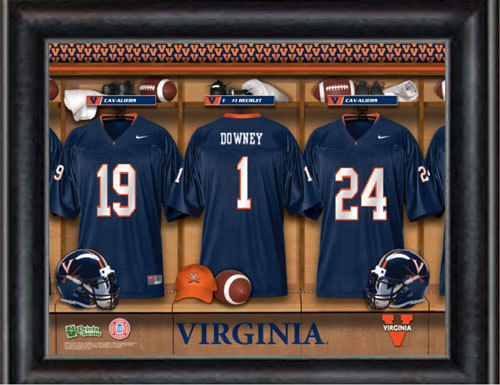 Customized Virginia Locker Room Jersey Print