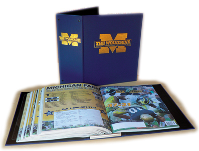 Binder for The Wolverine Magazine