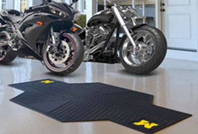 Michigan Wolverine Motorcycle Mat