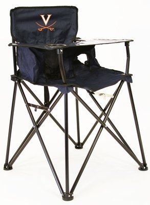 Virginia Cavalier High Chair with Carry Bag