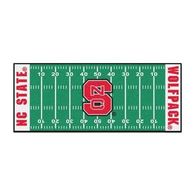 NC State Football Field Runner Mat