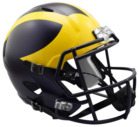 Michigan Speed Replica Helmet by Riddell