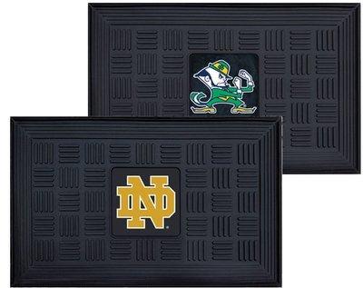 Notre Dame Outdoor Vinyl Doormat