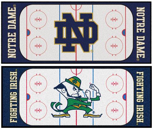 Notre Dame Hockey Runner Mat/Rug