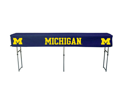 Michigan Wolverine Tailgate Buffet Table with Cover