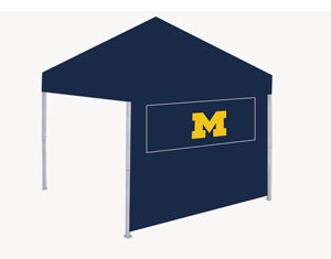 Michigan Tailgate Canopy Tent Side Panel w/Windows