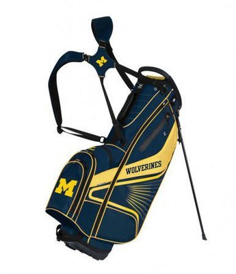 Michigan Grid Iron III Golf Bag Stand Bag