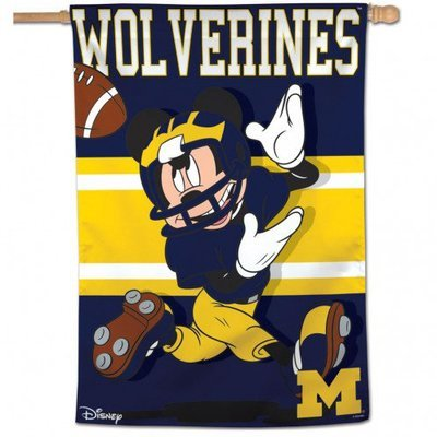 Michigan Mickey Mouse Vertical Banner
